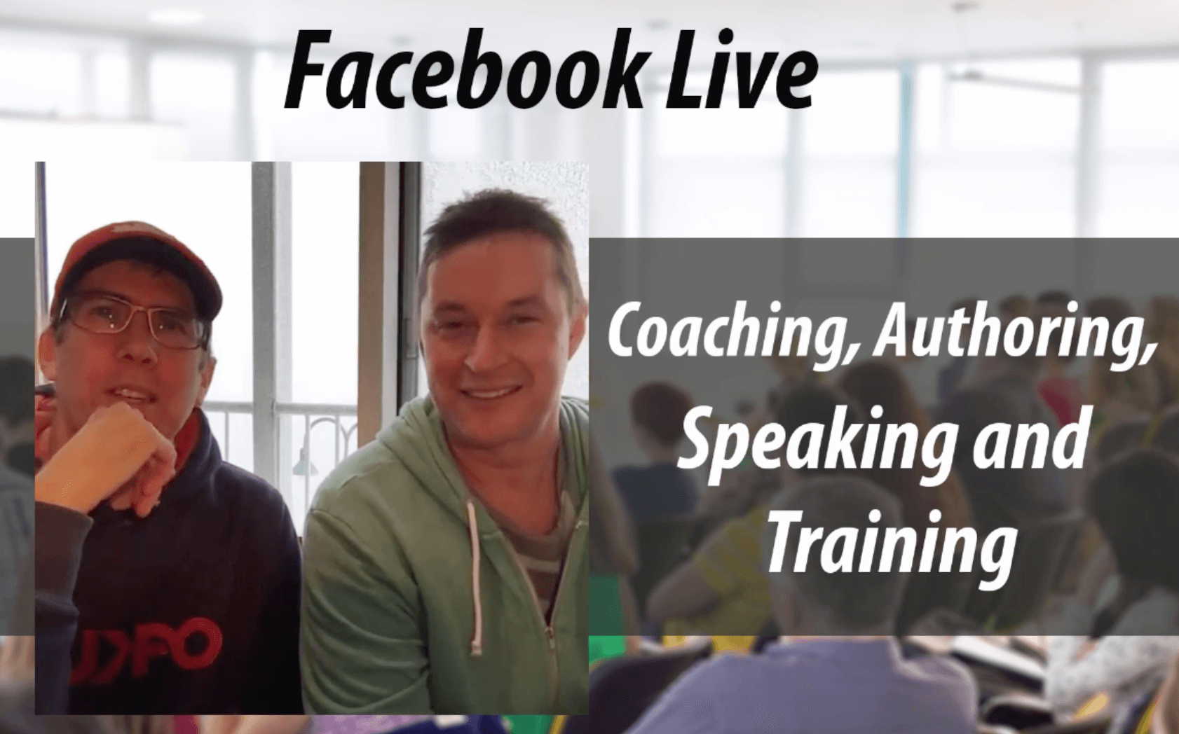 Coaching Authoring Speaking and Training